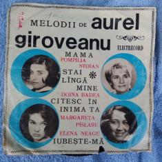 Melodii De Aurel Giroveanu - Muzica Pop electrecord, VINIL
