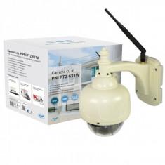 Camera supraveghere cu IP PNI PTZ 631W dome de exterior PTZ conectare wireless sau cablu
