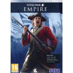 Empire Total War Complete Edition Pc - Jocuri PC Sega, Strategie, 16+