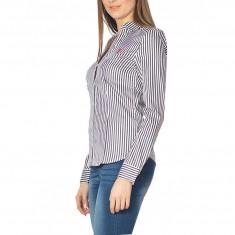 Camasa US Polo ASSN de dama, camasa de calitate 100% bumbac, L, XL, Negru