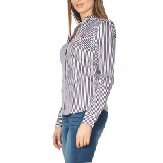 Camasa US Polo ASSN de dama, camasa de calitate 100% bumbac - Camasa dama US Polo Assn, Marime: M, L, XL, Culoare: Negru, Maneca lunga