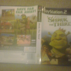 Shrek the third - JOC PS2 Playstation - Jocuri PS2, Actiune, Toate varstele, Single player
