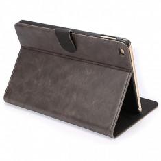 Husa piele Apple iPad mini 4 Enkay Crazy Horse gri Blister - Husa Tableta