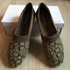 Pantofi / mocasini – CALVIN KLEIN - Mocasini barbati Calvin Klein, Marime: 42, Culoare: Maro