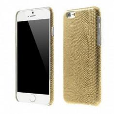 Husa plastic Apple iPhone 6 Lizard Skin aurie - Husa Tableta