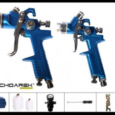 ► Set pistoale de vopsit HVLP - Germania ..Duze 1.4 si 0.8 mm | pistol vopsit - Pistol de vopsit