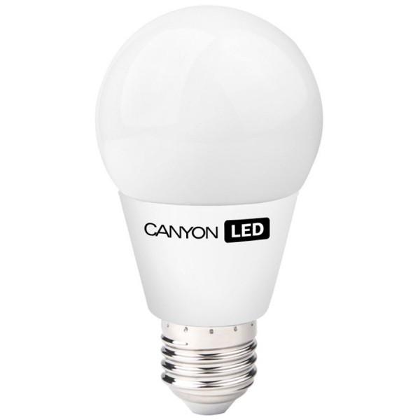 Bec CANYON LED lamp, A60 shape, E27, 6W, 220-240V, 300?, 470 lm, 2700K, Ra>80, 50000 h foto mare