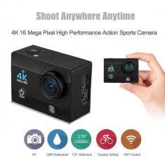 Camera Sport Q6 Ultra HD 4K, 16mpx, Wi-Fi, 170*, Nigh Vision, Slow Motion, NOU!