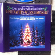 Das grosse volkstumliche weihnachts wunschkonzert cd disc muzica sarbatori