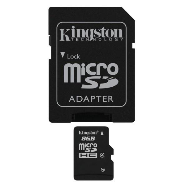 Card Memorie Kingston MicroSDHC 8GB Class4