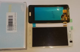 Display Samsung Galaxy J5 alb / 2015 / + folie sticla  ecran complet