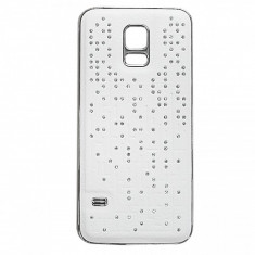 Capac baterie Samsung Galaxy S5 mini G800 Swarowski alb