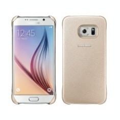 Husa plastic Samsung Galaxy S6 EF-YG920BF aurie Blister Originala - Husa Tableta