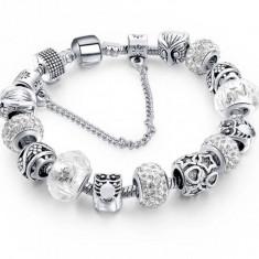 Bratara tip Pandora argint charms incluse. Cadoul ideal - Bratara argint