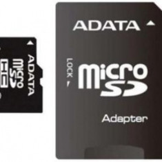 A-DATA MicroSDHC 4GB, SDHC Class 4 SD Adapter - Card memorie