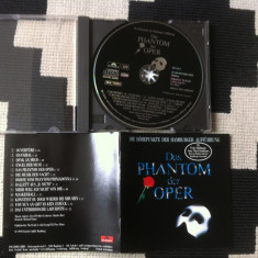Das phantom der oper disc Cd muzica musical opera made in germany polydor 1990 - Muzica Opera