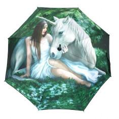 Umbrela cu unicorn Inima curata - Umbrela Copii