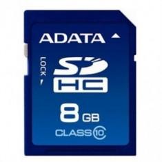 Card de memorie Adata SDHC ASDH8GUICL10-R, 8GB, Clasa 10