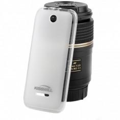 Husa silicon TPU Nokia 225 Kisswill transparenta Blister Originala - Husa Tableta