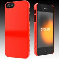 Husa CYGNETT Protectie pentru spate AeroGrip Form Tangerine pentru iPhone 5 - Husa Tableta Apple