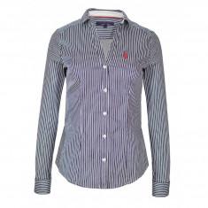 Camasa US Polo ASSN de dama, camasa de calitate 100% bumbac, L, M, S, XL, XXL, Albastru, US Polo Assn