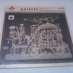 DUBLU DISC VINIL 2 LP GAITELE-ALEXANDRU KIRITESCU STARE EXCELENTE NOI - Muzica pentru copii
