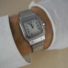 Ceas Cartier Santos - Ceas barbatesc Cartier, Mecanic-Automatic