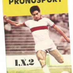 @Calendar de buzunar 1984-Loto Pronosport - Calendar colectie