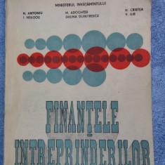 Finantele Intreprinderii -Antoniu ,Adochitei , Neagoe , Ilie,  Dumitrescu