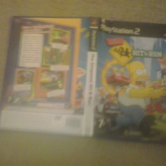 The Simpsons Hit & run - PS2 - Jocuri PS2, Actiune, 12+, Multiplayer