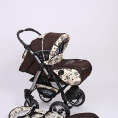 Carucior copil Baby Merc Junior Plus - Carucior copii 2 in 1 Altele, Maro