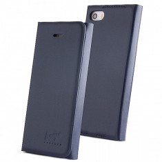 Husa piele Apple iPhone 6 Beeyo Book Carry bleumarin Blister Originala - Husa Tableta