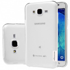 Husa silicon TPU Samsung Galaxy J5 Nillkin Nature transparenta Blister Originala - Husa Tableta