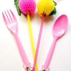 Set petrecere tacamuri roz