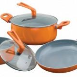 Set de oale Heinner Gisela, 5 piese, acoperire ceramica