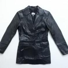 Palton piele naturala Hennes Collection; marime 36, vezi dimensiuni; ca nou - Palton dama, Culoare: Din imagine