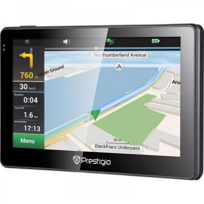 Navigator GPS Prestigio GeoVision 5057 + harta Full Europe, LMU foto
