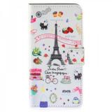 Husa piele Desire 620 Eiffel Tower Book - Husa Tableta