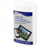 SET CURATARE - TFT/LCD Screen Cleaning Wipes LOGILINK, 100pcs/box