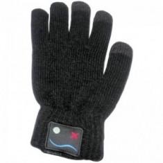 Manusi touchscreen, negre