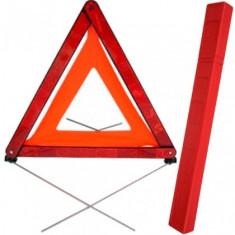 Triunghi Reflectorizant Presemnalizare Avarie de Avertizare Accident Omologat UE - Trusa auto prim ajutor