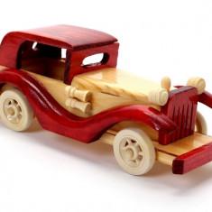 Masina de epoca din lemn - Jucarii plus