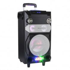 Sistem Boxe Karaoke Portabil FM Mp3 Bluetooth cu microfon wifi Garantie 2 ani