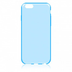 Husa silicon TPU Apple iPhone 6 Slim bleu transparenta - Husa Tableta