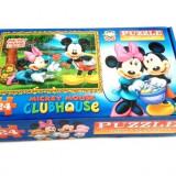 Puzzle 24 piese Clubul lui Mickey Mouse - Jocuri arta si creatie