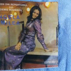 ANGELA SIMILEA - MELODII DIN REPERTORIUL DEMIS ROUSSOS - Muzica Dance electrecord, VINIL