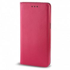 Husa piele Samsung Galaxy J1 Smart Magnet roz - Husa Tableta