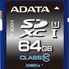 Card memorie ADATA SDXC Premier 64GB Clasa 10