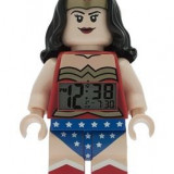 Ceas Lego Mini Fig Clock Wonder Woman