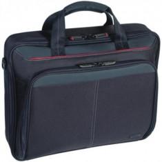 Geanta Targus laptop 15.4 inch CN31 Black Nylon - Geanta laptop Targus, Poliester, Negru